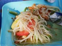 Som Tam Thai: Scharfer Papaya Salat